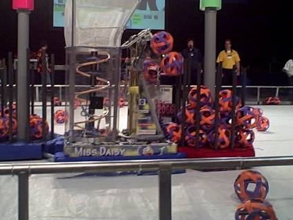 Wissahickon High School, Ambler, PA Miss Daisy Team 341 Robot
